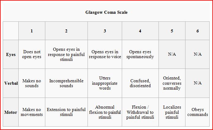 DaCoTa Manual - Glasgow Coma Scale - En Route